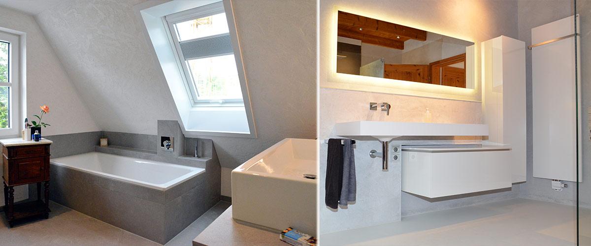 bad putz statt fliesen finest kuche farbe statt badezimmer farbe statt fliesen in with bad putz. Black Bedroom Furniture Sets. Home Design Ideas